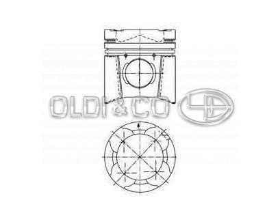 Раslоdе Part 403098 Piston Ring